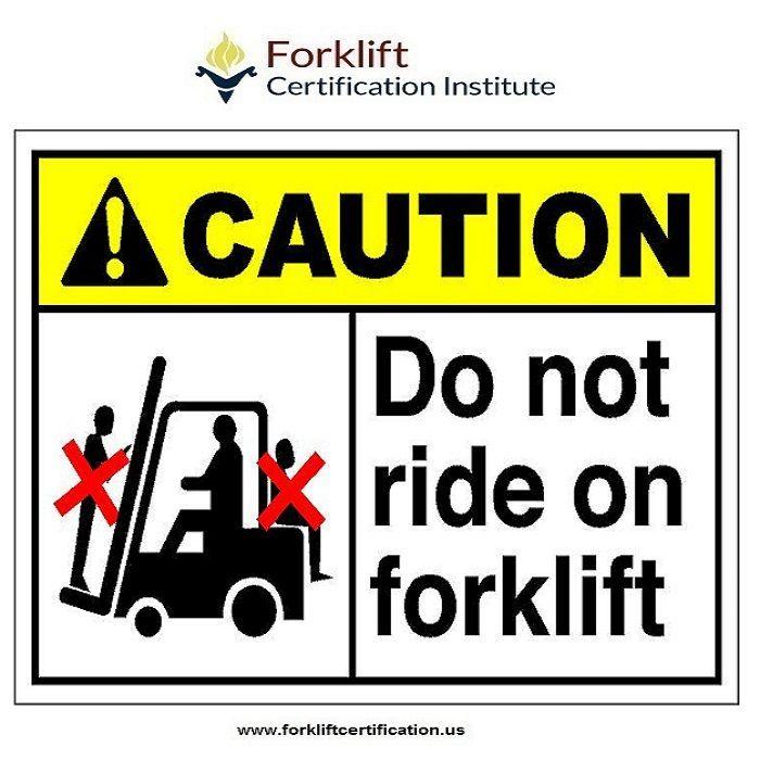 Be Safe Forklift Forklifttraining Forkliftcertification