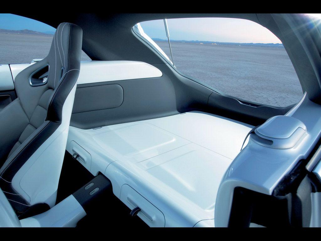 2005 Volkswagen Vw New Beetle Ragster Concept Interior Rear