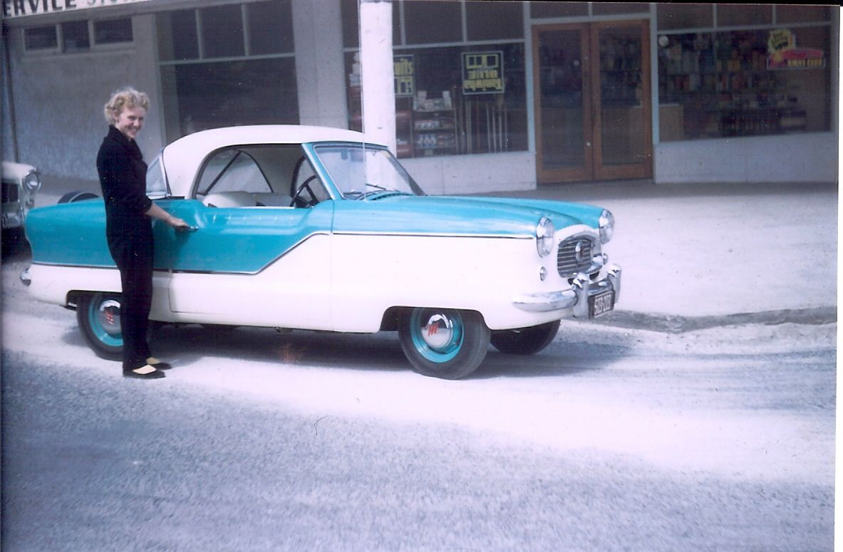Beside my dream car in 1957 - It remained on my wish list until I ...