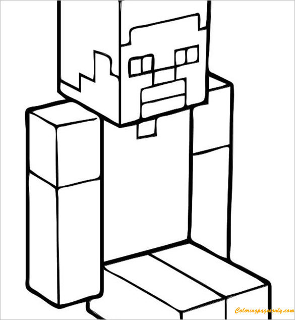 Pin by Coloring Pages on Minecraft