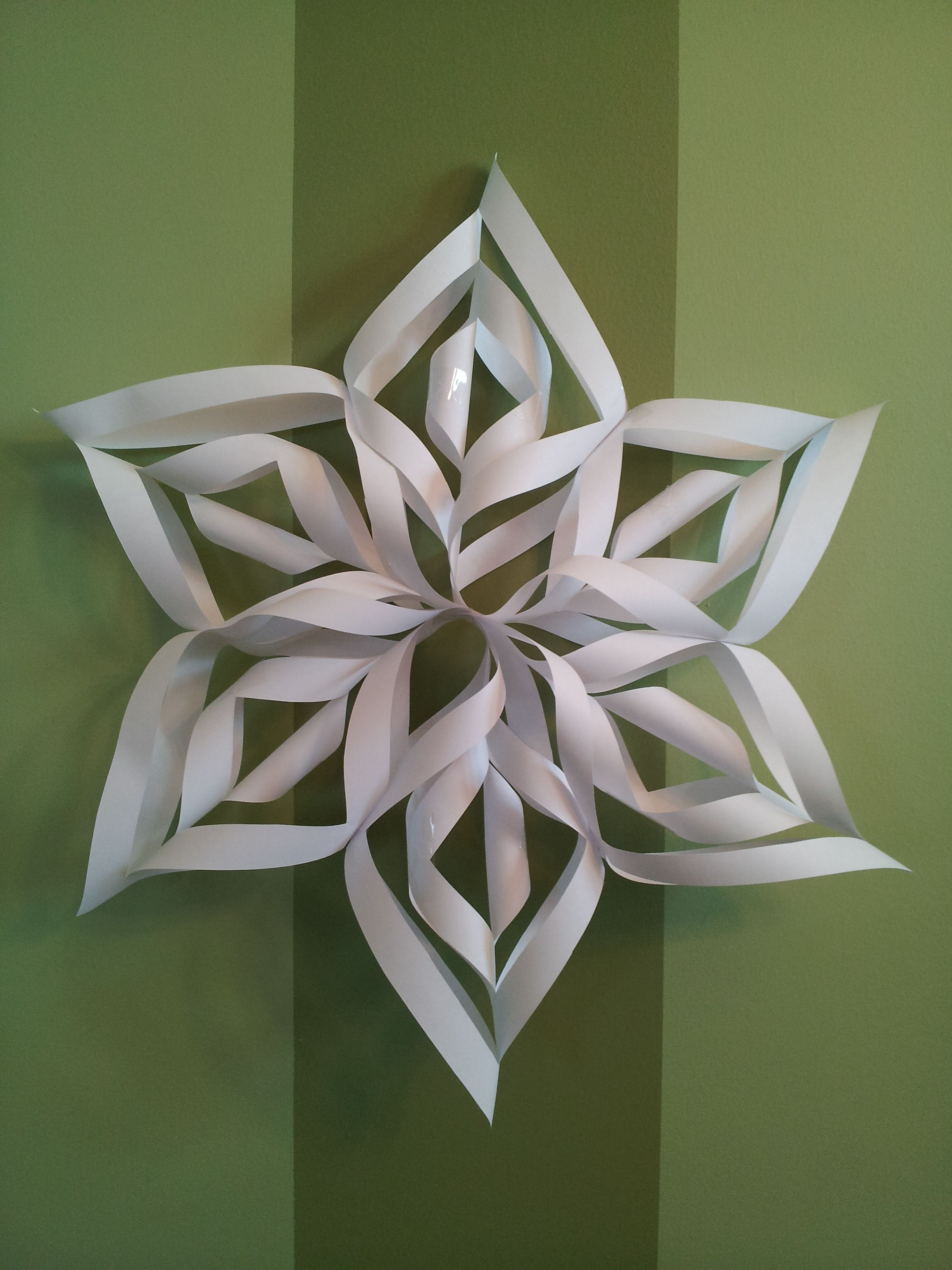 Snowflakes Crafts Pinterest
