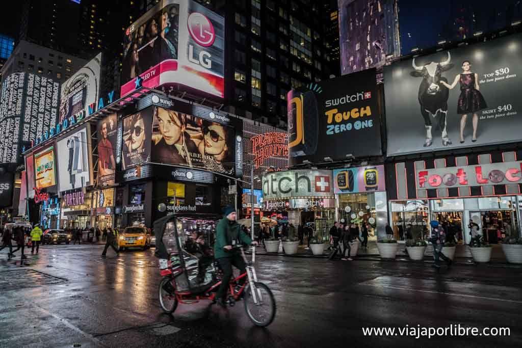 Trucos y consejos para visitar Broadway y Times Square