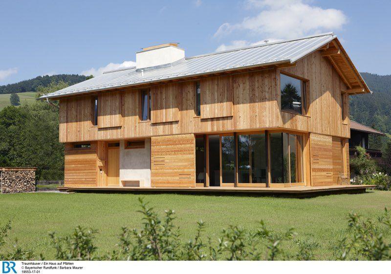 Traumhause Ein Haus Auf Pfahlen Archimag Von Sebastian Lauff Haus Architektur Architekt Architektur Haus