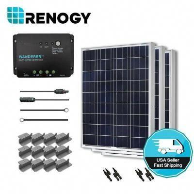 Renogy 300 Watt 12 Volt Polycrystalline Solar Starter Kit For Off Grid Solar System Starter300p W30 In 2020 Off Grid Solar Solar Panels Solar Energy Panels