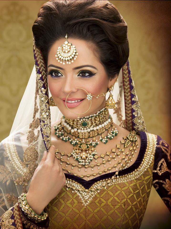 Pakistani Bridal Wedding Hairstyles 2015 2016