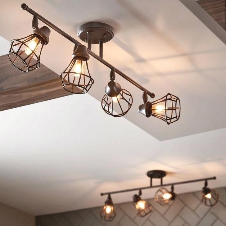 Photo of Kitchen track lighting fixture