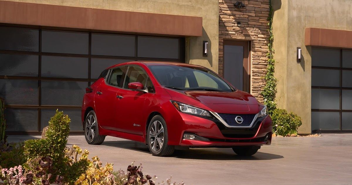 2018 Nissan Leaf Has A 150Mile Range And Costs 29,990
