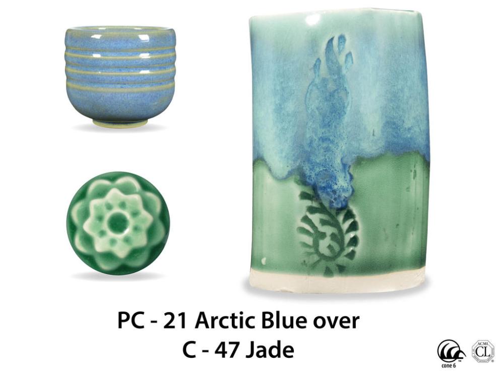 C-47 Jade – Pint #potteryglazes