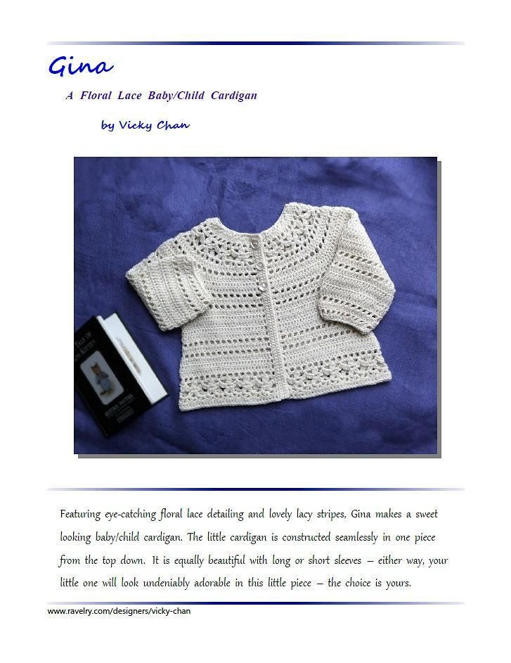3293f4767f11 Gina - floral lace baby child cardigan