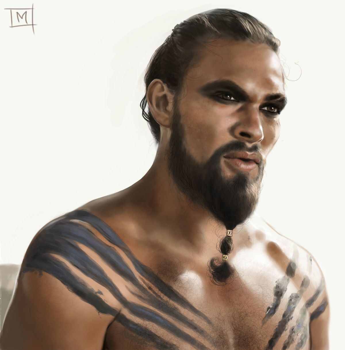 Khal Drogo Speedpaint By ArtByManon.deviantart.com On