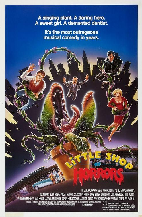 Little Shop Of Horrors 1986 Tienda De Los Horrores Horror Movie Posters Peliculas Divertidas