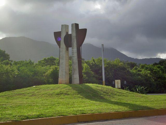 Museo Vial en la Isla de Margarita, año 2008. #museo #arte #margarita #venezuela #cinético #escultura