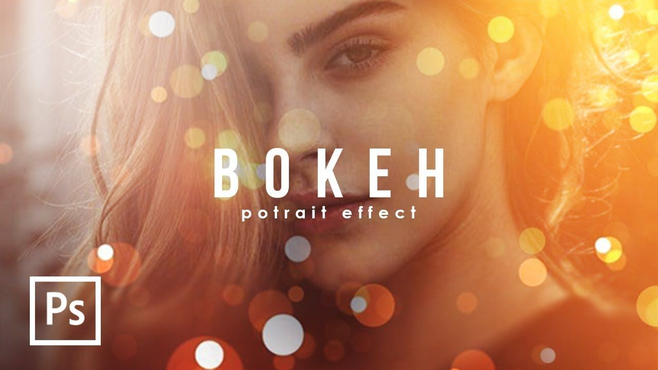 Cara Edit Foto Crispy Bokeh Potrait Edit Foto Keren Photoshop Tutori Photoshop Bokeh Pengeditan Foto