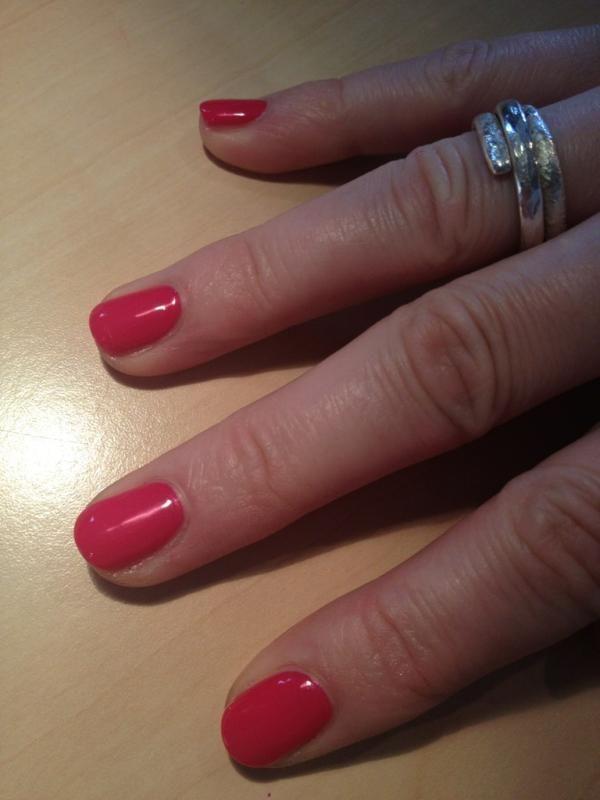 Jessica GELeration in Raspberry. | Gel Polish | Pinterest | Raspberry