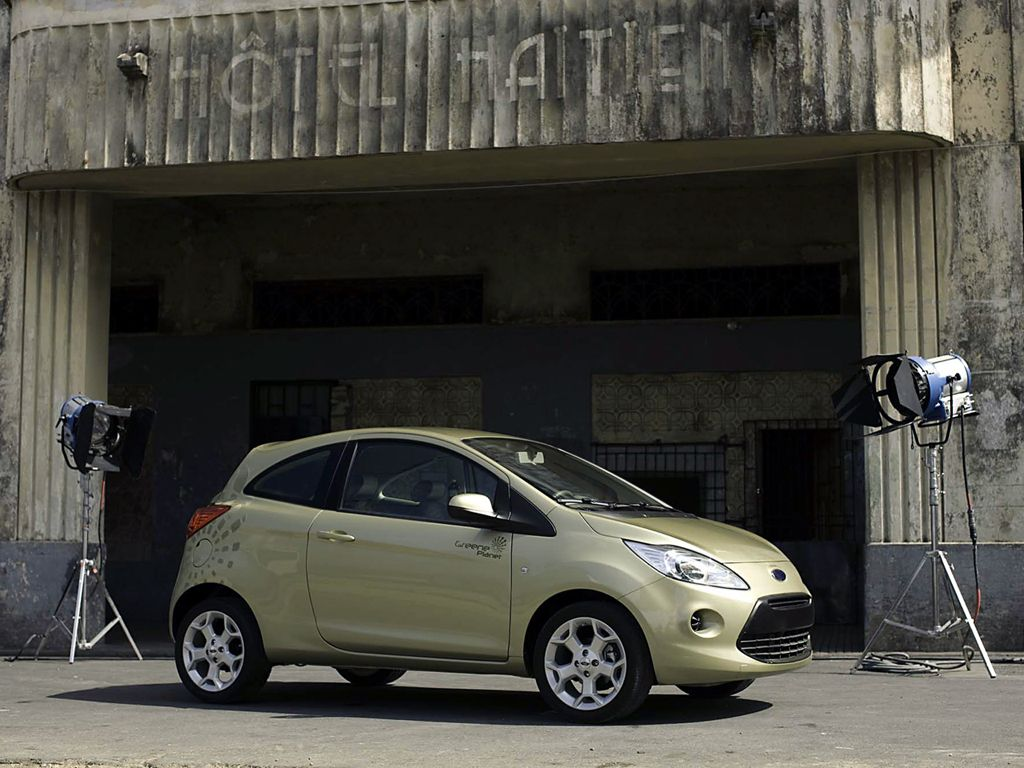 Ford Ka Hydrogen 007 Quantum Of Solace 2008 Ford Cars Movie Car