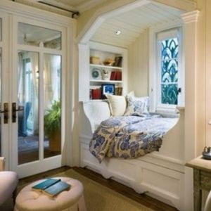 Amazing little nook for my bedroom by Nessa