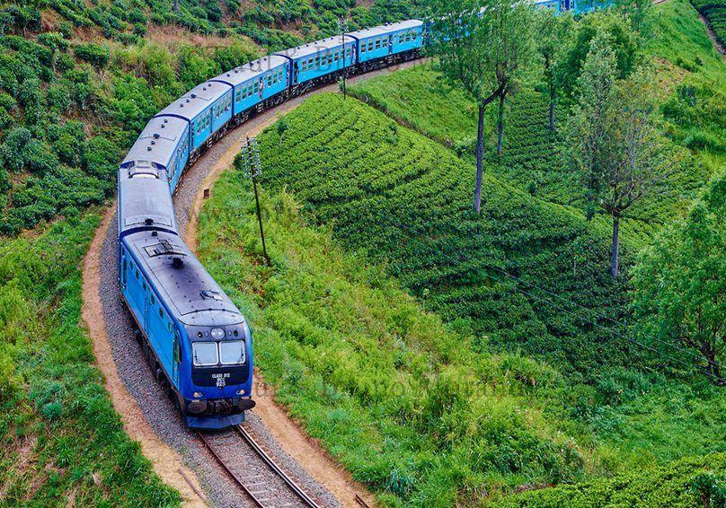 upcountry train ride