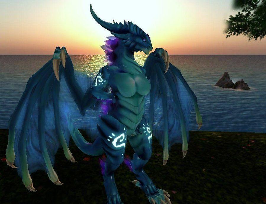 eb8cfaadf0fd secondlife #dragon kinzart 2 by ATIANABOXEN | Second Life Furry ...