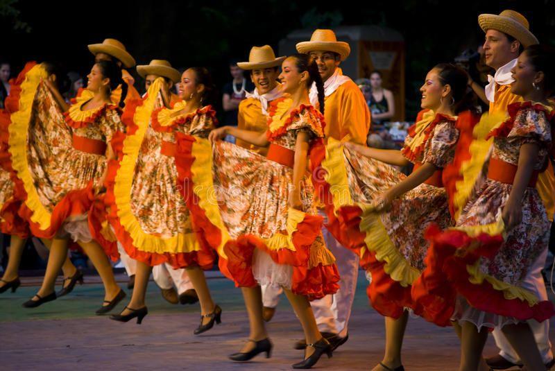 Brazil dances International folklor festival Veliko Turnovo Bulgaria photo take
