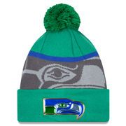 c8880a9bda5 Seattle Seahawks New Era Green Graphite Gold Collection Classic Team Color Knit  Hat