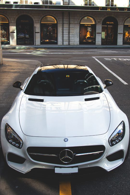 Young Sophisticated Luxury Sport Cars Mercedes Car Benz Car