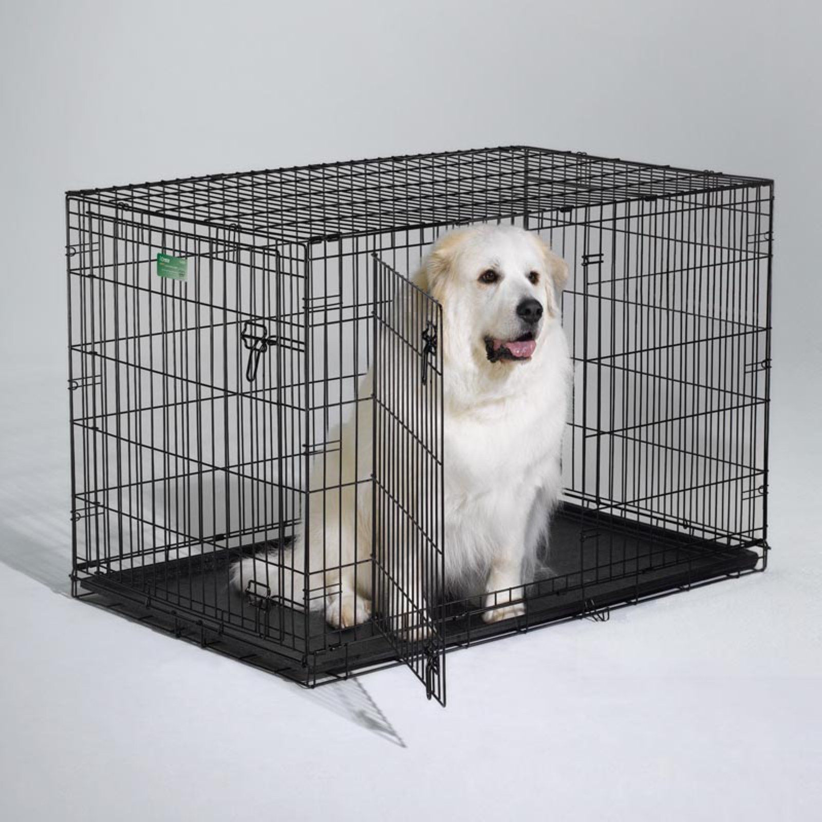 Midwest Homes For Pets Icrate Folding Double Door Metal Dog Crate Large Dog Crate Xxxl Dog Crate Dog Crate