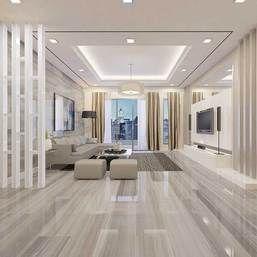 Marble Attache In Turkish Skyline 24 X 48 Matte Field Tile