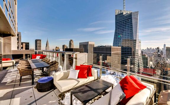 Bar 54 at the Hyatt Times Square 135 W 45th St (between ...