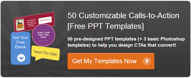 Free call-to-action templates from Hubspot | My Nerd Board ...