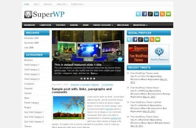 Free wordpress business blue black theme template wordpress themes free wordpress business blue black theme template accmission Image collections