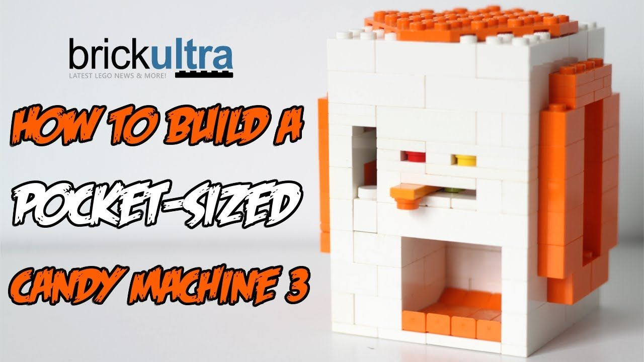 How To Build A Mini Lego Candy Machine 3 Kids Stuff Pinterest