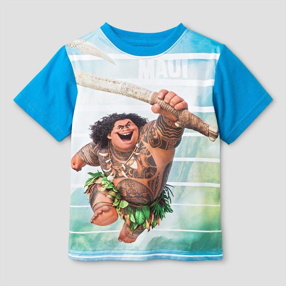 Moana Maui Toddler TShirt 3T Blue, Toddler Toddler