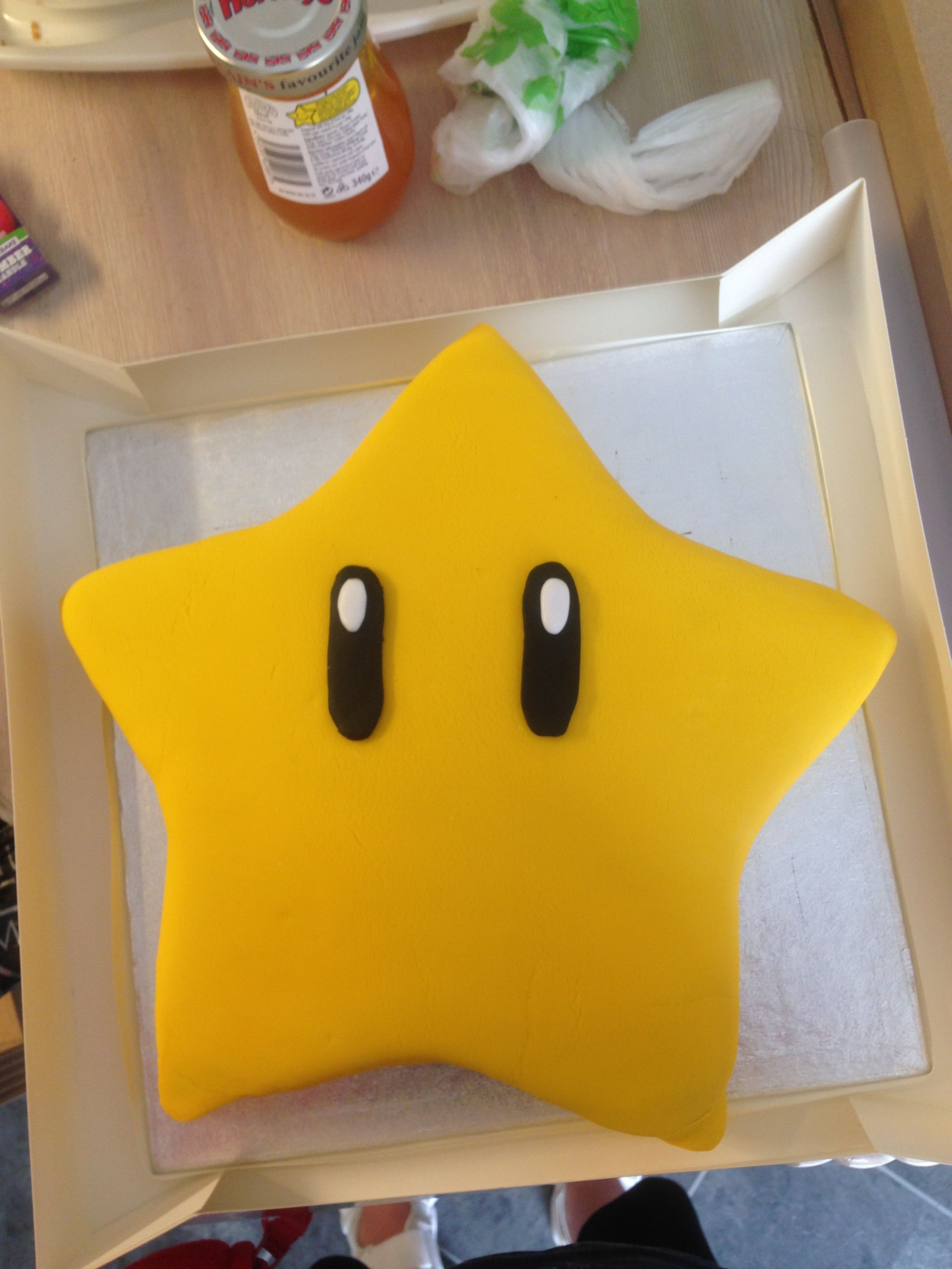 how to make a star shaped cake