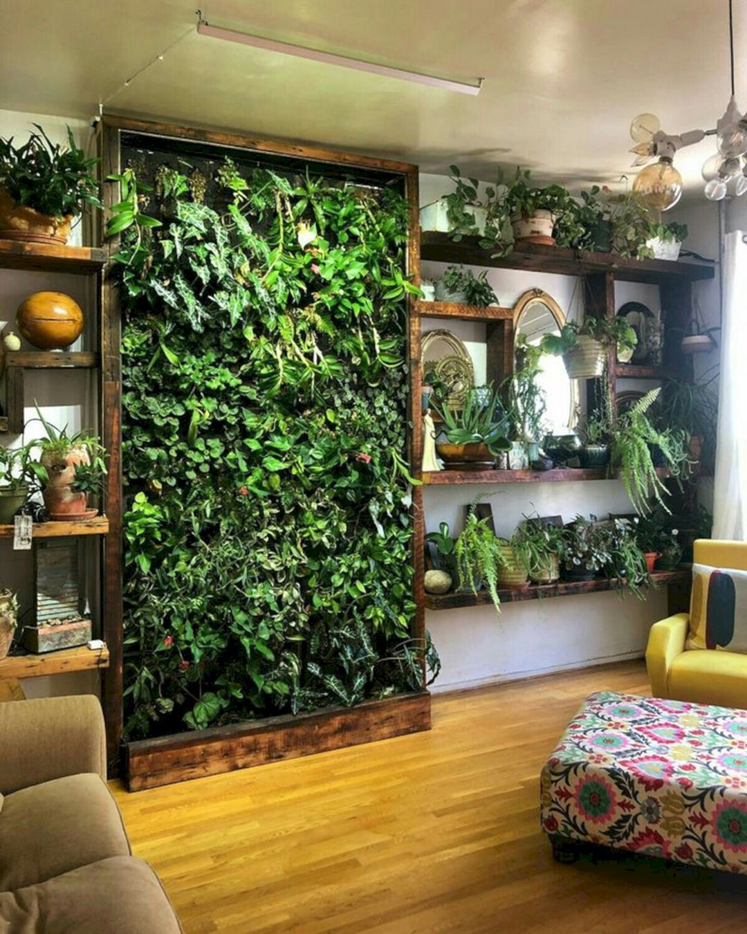 6 Astonishing Indoor Wall Garden Ideas For More Home Fresh
