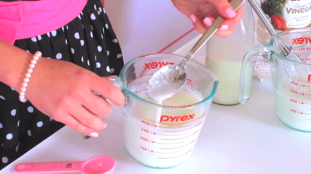 {VIDEO} How To Make Homemade Buttermilk Substitute   Baking 101: Quick, Easy Tips