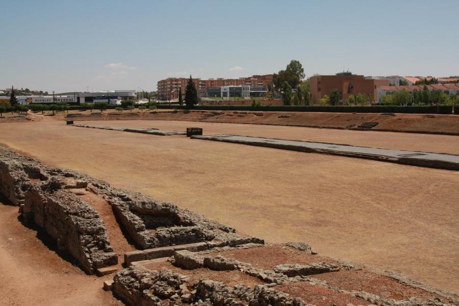 Roman circus, Merida, Spain