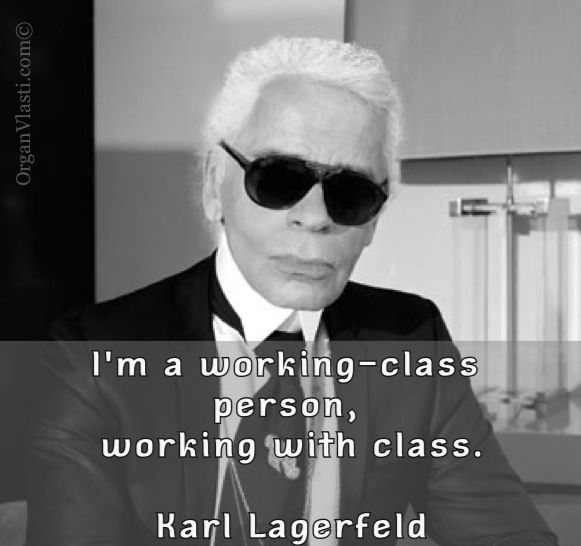 The Karl :) #fashion #lagerfeld #class #quotes