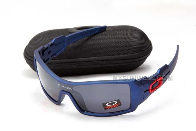 Oakley Oil Rig Sunglass Blue Frame Black Lens On Sale : Cheap Oakleys  Sunglasses,Discount Oakley Sunglasses,Oakley Sunglass Outlet, Oakley Outlet  Store