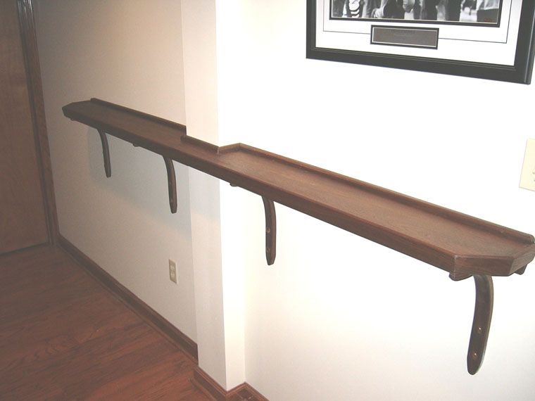 Drink Rail For The Game Room For The Home Pool Table
