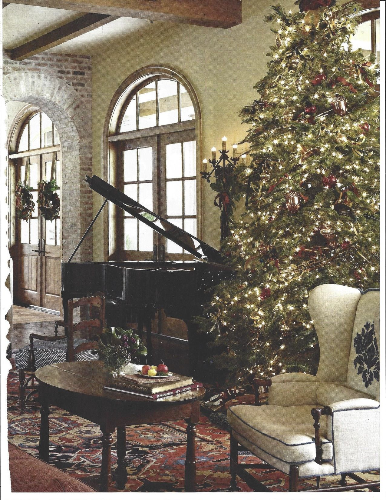 Grand Living Room: Grand Piano In Living Room