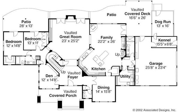 Rustic Home 3 Bedrms 3 5 Baths 4021 Sq Ft Plan 108 1161 Dog Trot House Plans Lodge Style House Plans Craftsman House Plans