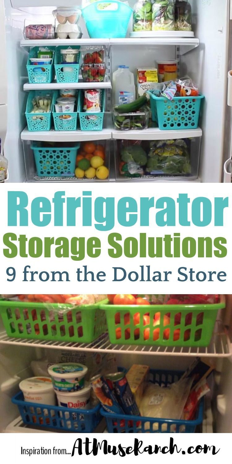 9 Unbelievably Easy Refrigerator Organization Dollar Store Hacks ...