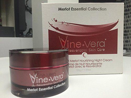 Vine Vera Resveratrol Nourishing Night Cream Merlot Collection 50ml See This Great Product Note Amazon Affi Vine Vera Resveratrol Night Creams Resveratrol