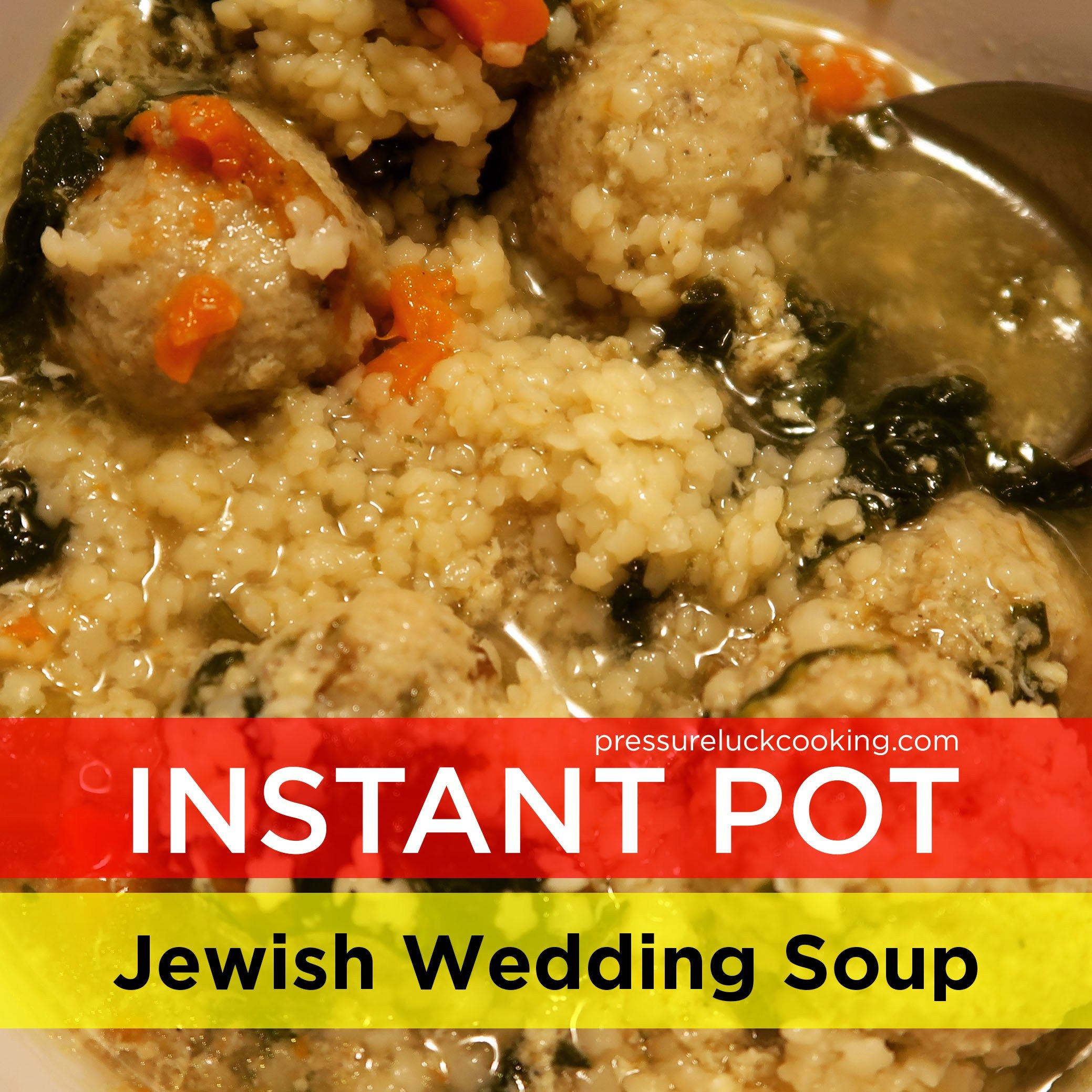 Instant Pot Jeffrey's Jewish Wedding Soup Wedding soup