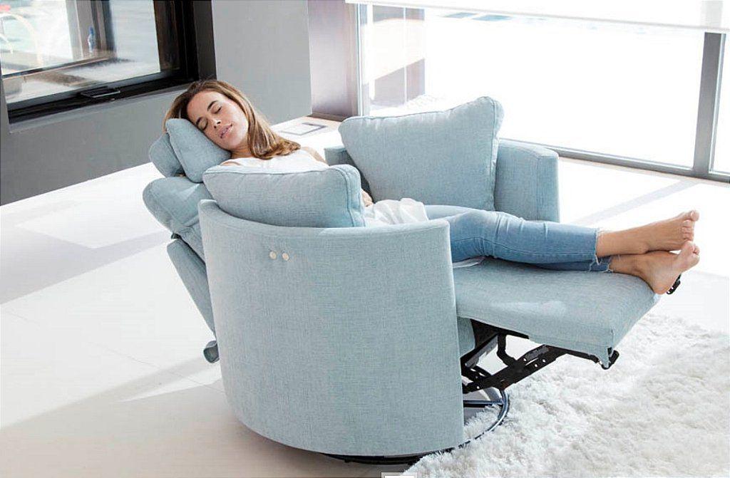 Fama Moonrise Swivel Recliner Chair Living Room Recliner Swivel