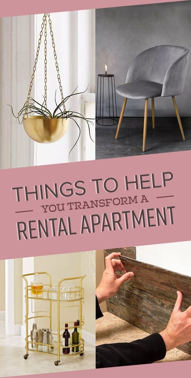 25 Things To Help You Transform A Rental Apartment | Pinterest ...