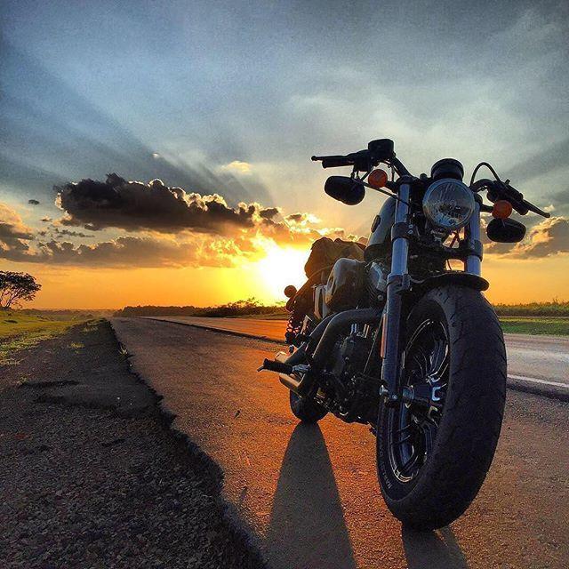 Rafaelkrulikoskii Has No Regrets Chasing Sunsets On Two Wheels