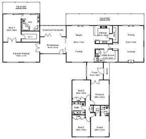 Australian House Plans If I Ever Thought About Designing My Own Home This Site Might Be A Starting Australian House Plans House Plans One Story House Plans