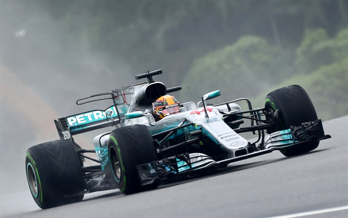 Download Wallpapers Lewis Hamilton 4k Formula 1 Car Racing