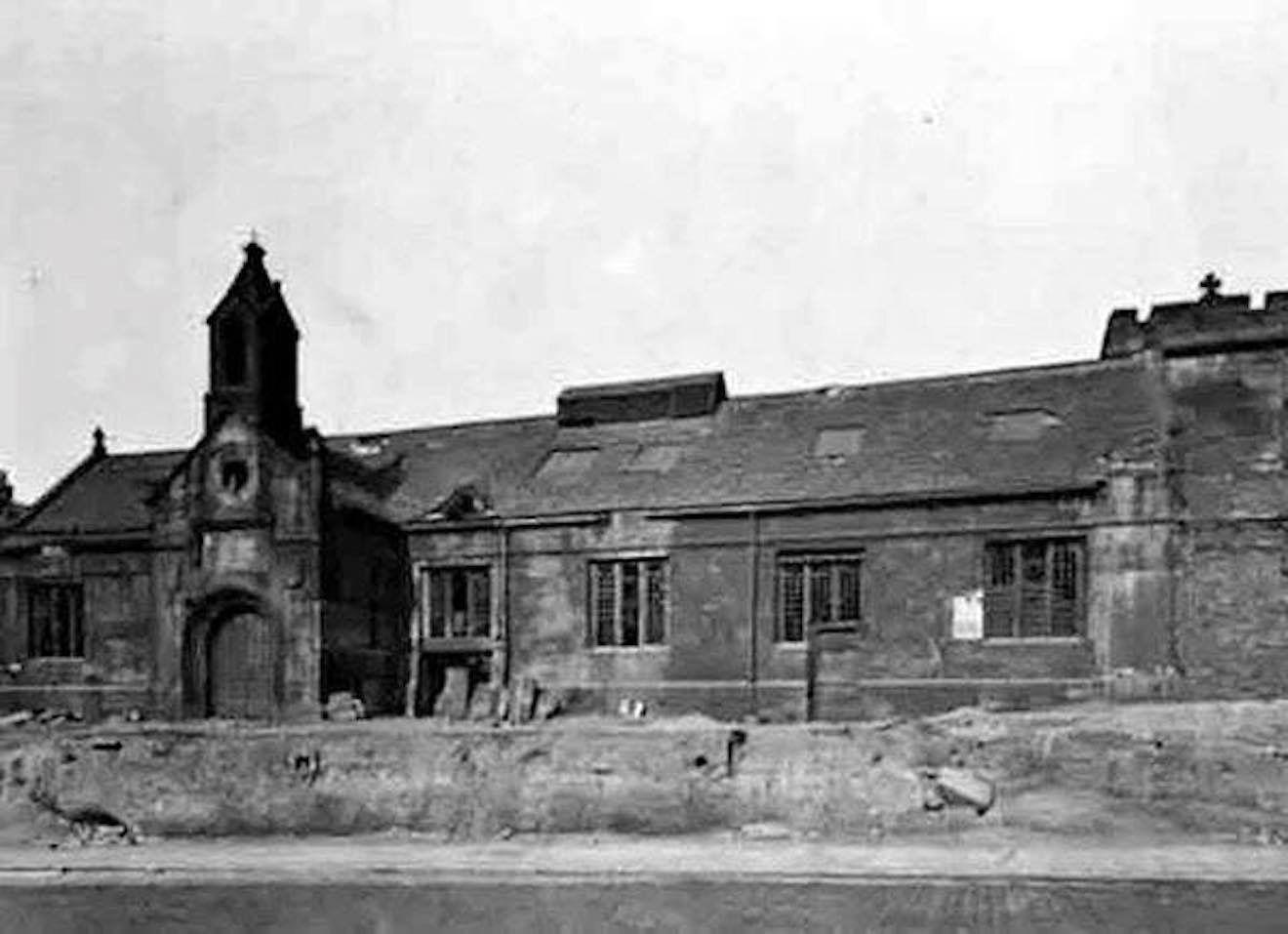 Leeds Boys Grammar School North Street Demolished In 1900 Leeds City Leeds Grammar School